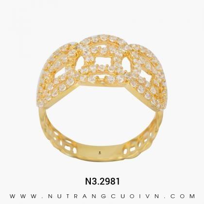 Nhẫn Kiểu Nữ N3.2981