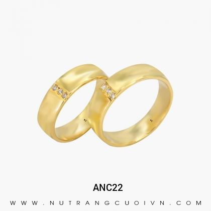 Nhẫn Cưới vàng ANC22