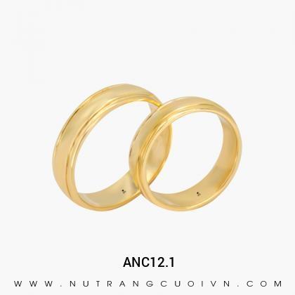 Nhẫn Cưới Vàng ANC12.1