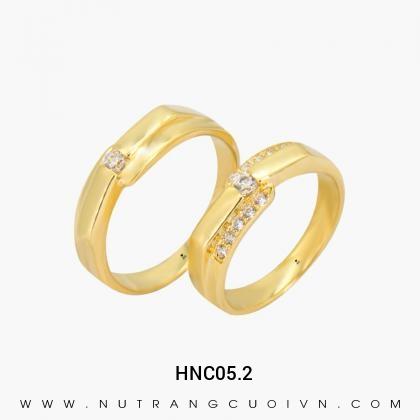 Nhẫn Cưới Vàng HNC05.2