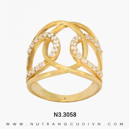 Nhẫn Kiểu Nữ N3.3058