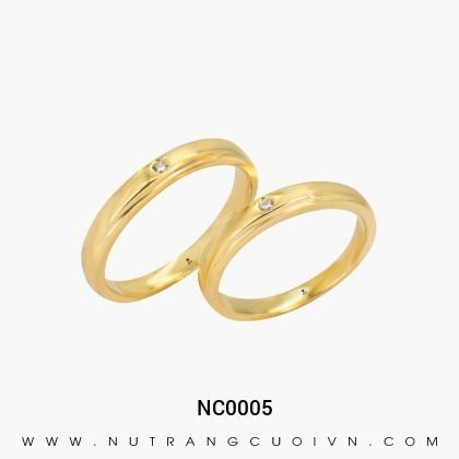 Nhẫn Cưới Vàng NC0005