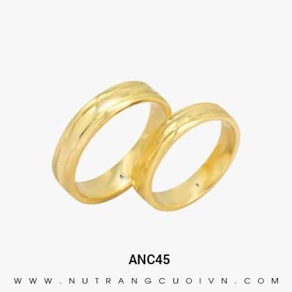 Nhẫn Cưới Vàng ANC45