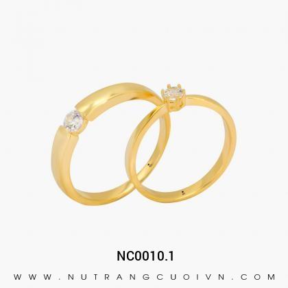 Nhẫn Cưới Vàng NC0010.1