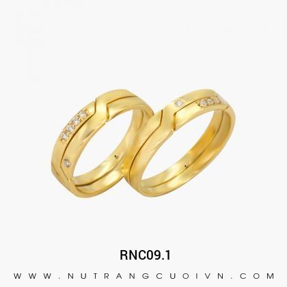 Nhẫn Cưới Vàng RNC09.1