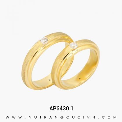 Nhẫn Cưới Vàng AP6430.1