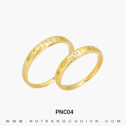 Nhẫn Cưới Vàng PNC04