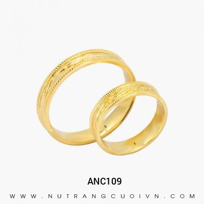 Nhẫn Cưới Vàng ANC109
