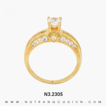 Nhẫn Kiểu Nữ N3.2305