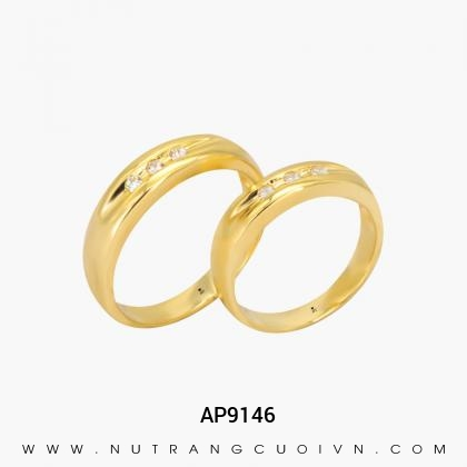 Nhẫn Cưới Vàng AP9146