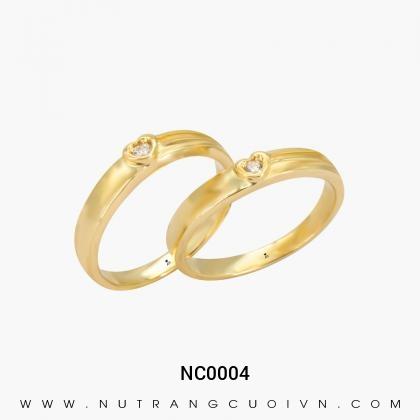 Nhẫn Cưới Vàng NC0004