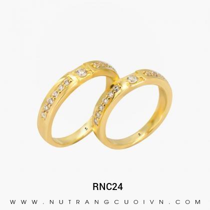 Nhẫn Cưới Vàng RNC24