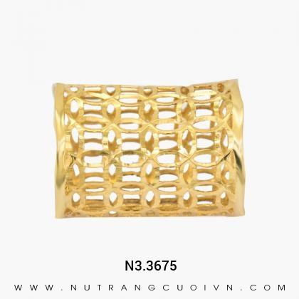 Nhẫn Kiểu Nữ N3.3675