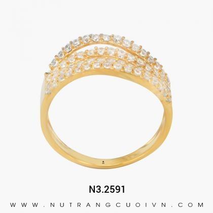 Nhẫn Kiểu Nữ N3.2591