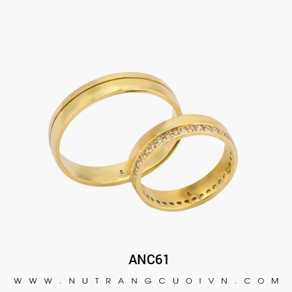 Nhẫn Cưới Vàng ANC61
