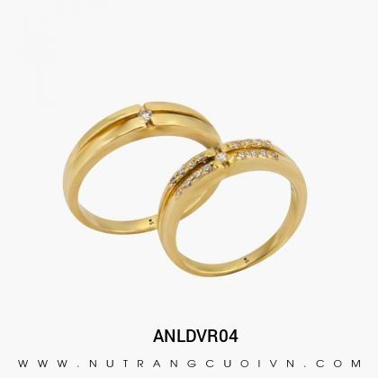 Nhẫn Cưới Vàng ANLDVR04