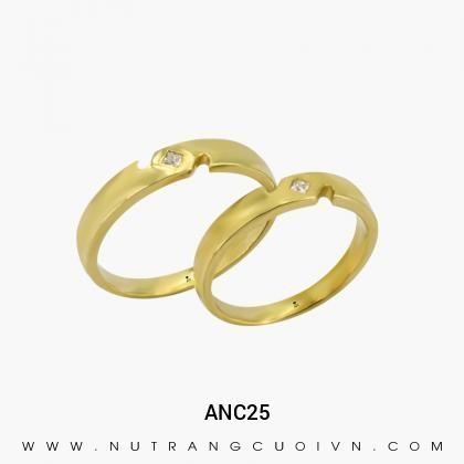 Nhẫn Cưới Vàng ANC25