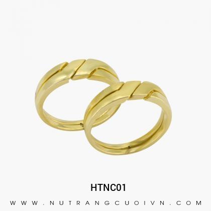 Nhẫn Cưới Vàng HTNC01