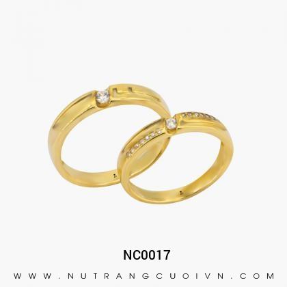 Nhẫn Cưới Vàng NC0017