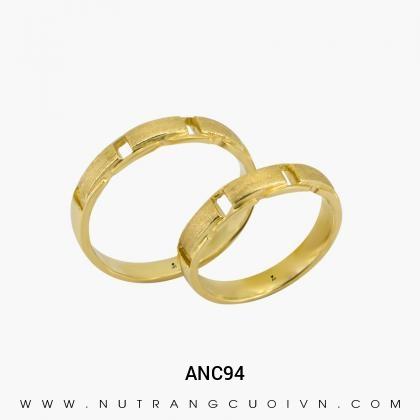 Nhẫn Cưới Vàng ANC94