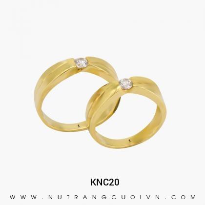 Nhẫn Cưới Vàng KNC20