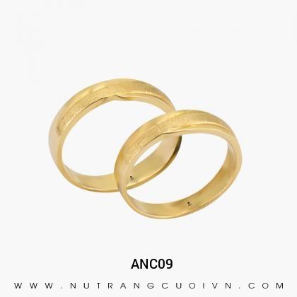 Nhẫn Cưới Vàng ANC09