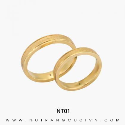 Nhẫn Cưới Vàng NT01