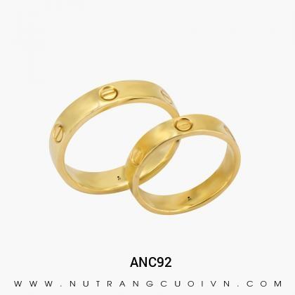 Nhẫn Cưới Vàng ANC92