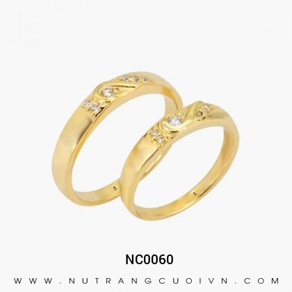 Nhẫn Cưới Vàng NC0060