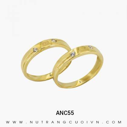 Nhẫn Cưới Vàng  ANC55