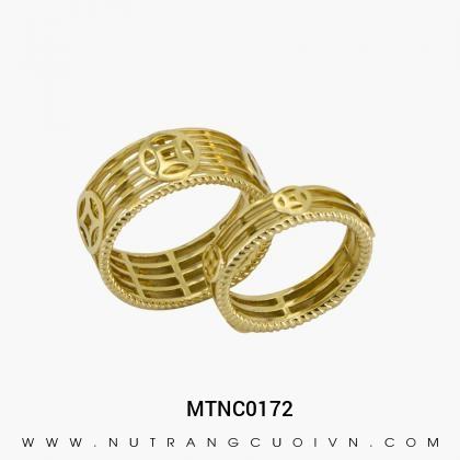 Nhẫn Cưới Vàng MTNC0172