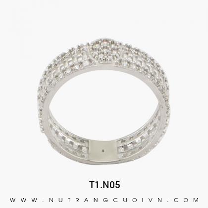 Nhẫn Kiểu Nữ T1.N05