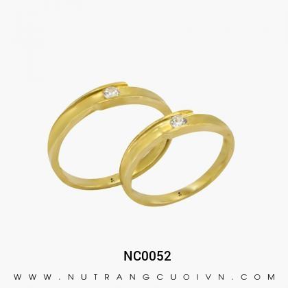Nhẫn Cưới Vàng NC0052