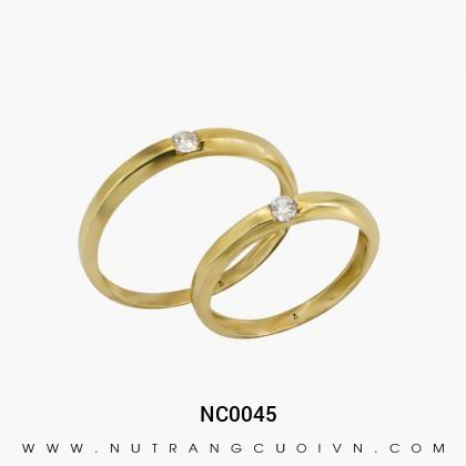 Nhẫn Cưới Vàng NC0045