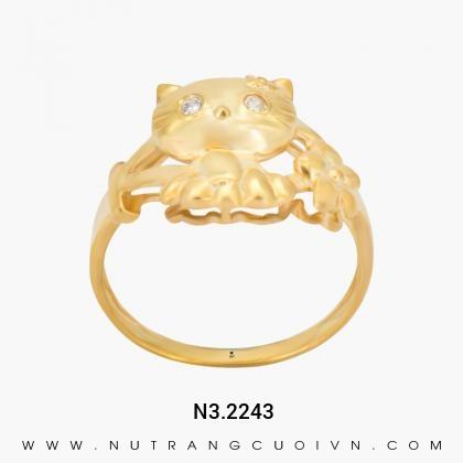 Nhẫn Kiểu Nữ N3.2243