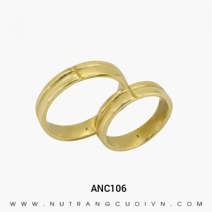 Nhẫn Cưới Vàng ANC106