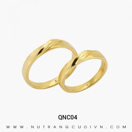 Nhẫn Cưới Vàng QNC04