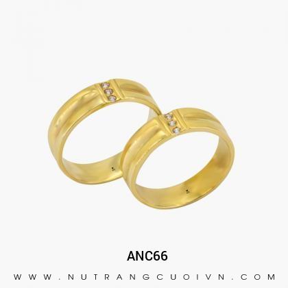 Nhẫn Cưới Vàng ANC66