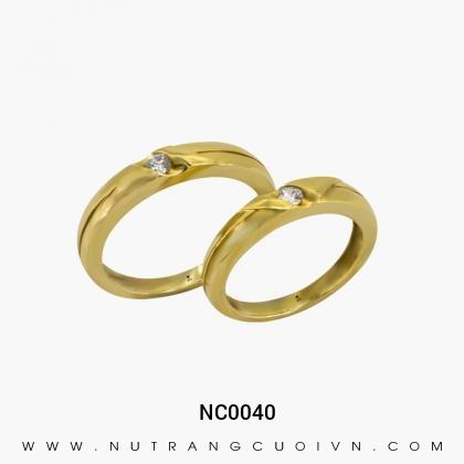 Nhẫn Cưới Vàng NC0040