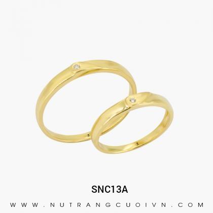 Nhẫn Cưới Vàng SNC13A