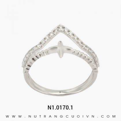 Nhẫn Kiểu Nữ N1.0170.1