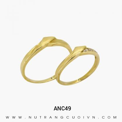 Nhẫn Cưới Vàng ANC49