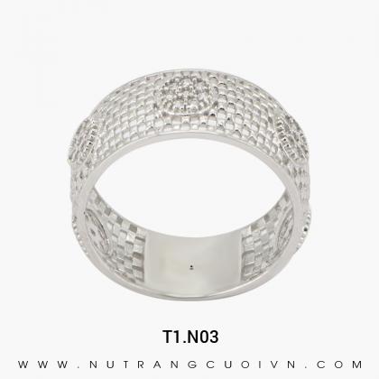 Nhẫn Kiểu Nữ T1.N03