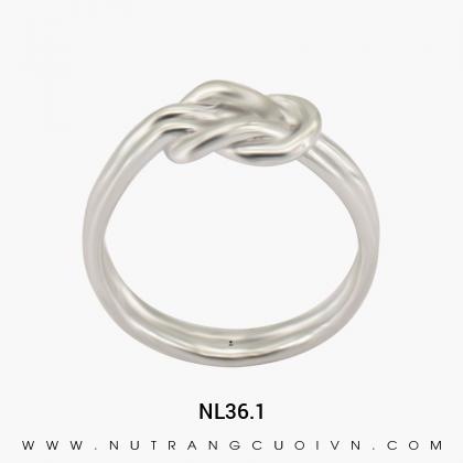 Nhẫn Kiểu Nữ NL36.1