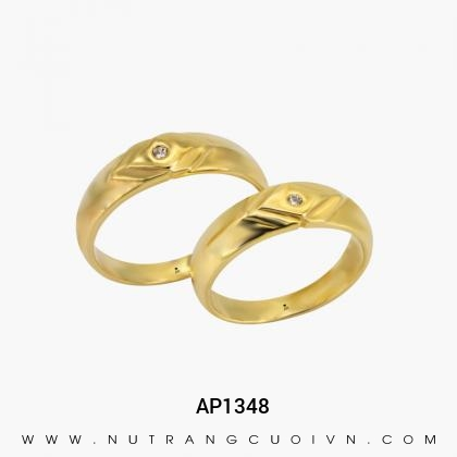 Nhẫn Cưới Vàng AP1348