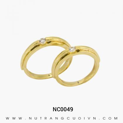 Nhẫn Cưới Vàng NC0049