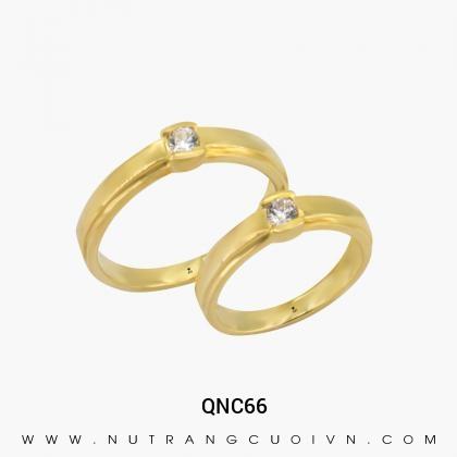 Nhẫn Cưới Vàng QNC66