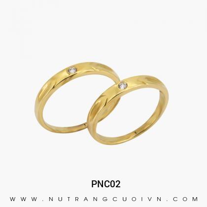 Nhẫn Cưới Vàng PNC02