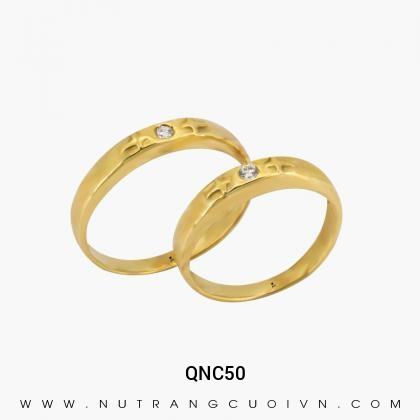 Nhẫn Cưới Vàng QNC50