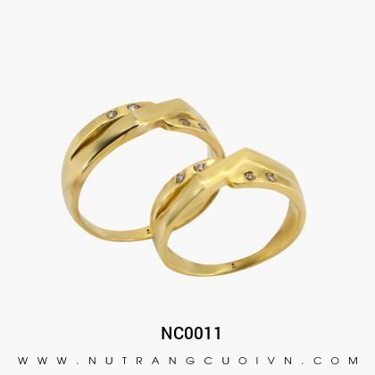 Nhẫn Cưới Vàng NC0011